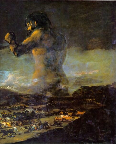Image result for colossus goya